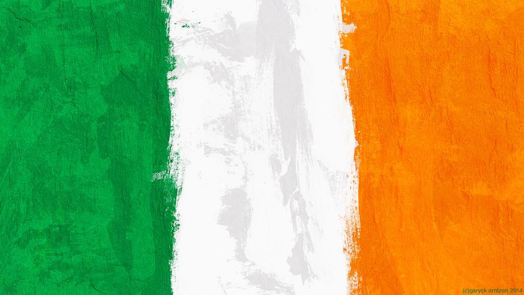 Irish Flag Wallpaper by GaryckArntzen 1024x576