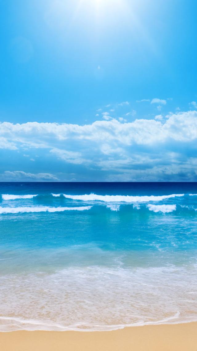 The Ocean iPhone 5 Wallpaper 640x1136 640x1136