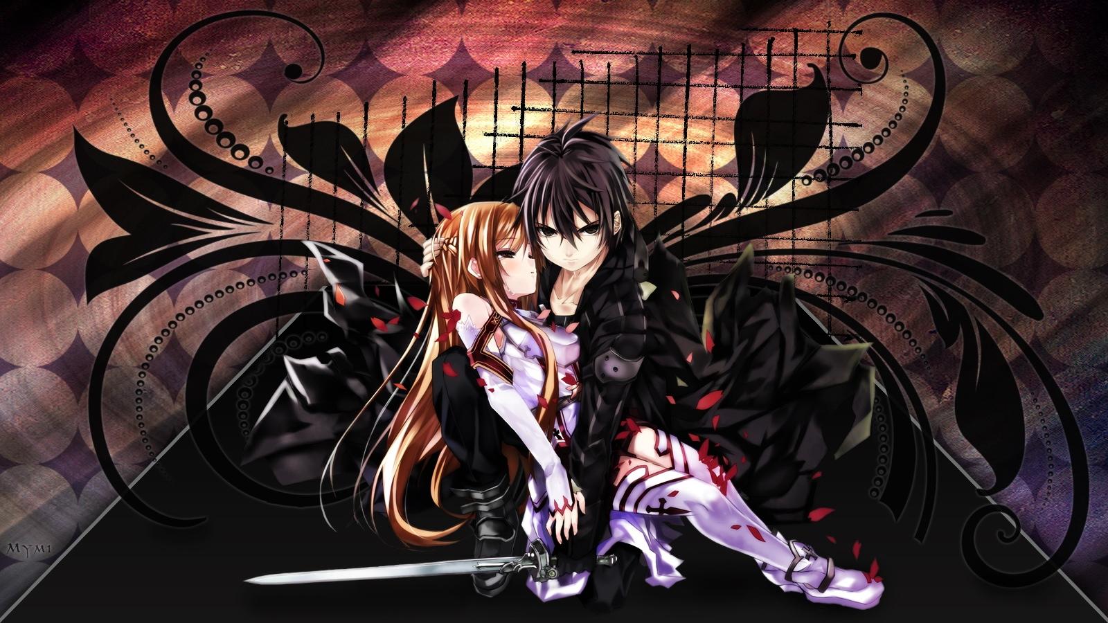 Sword Art Online Wallpaper 1600x900 wallpaperhere 1600x900
