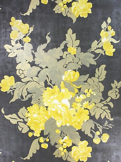 osborne little Ginevra wallpaper Yellow is not Mellow Pinterest 400x534