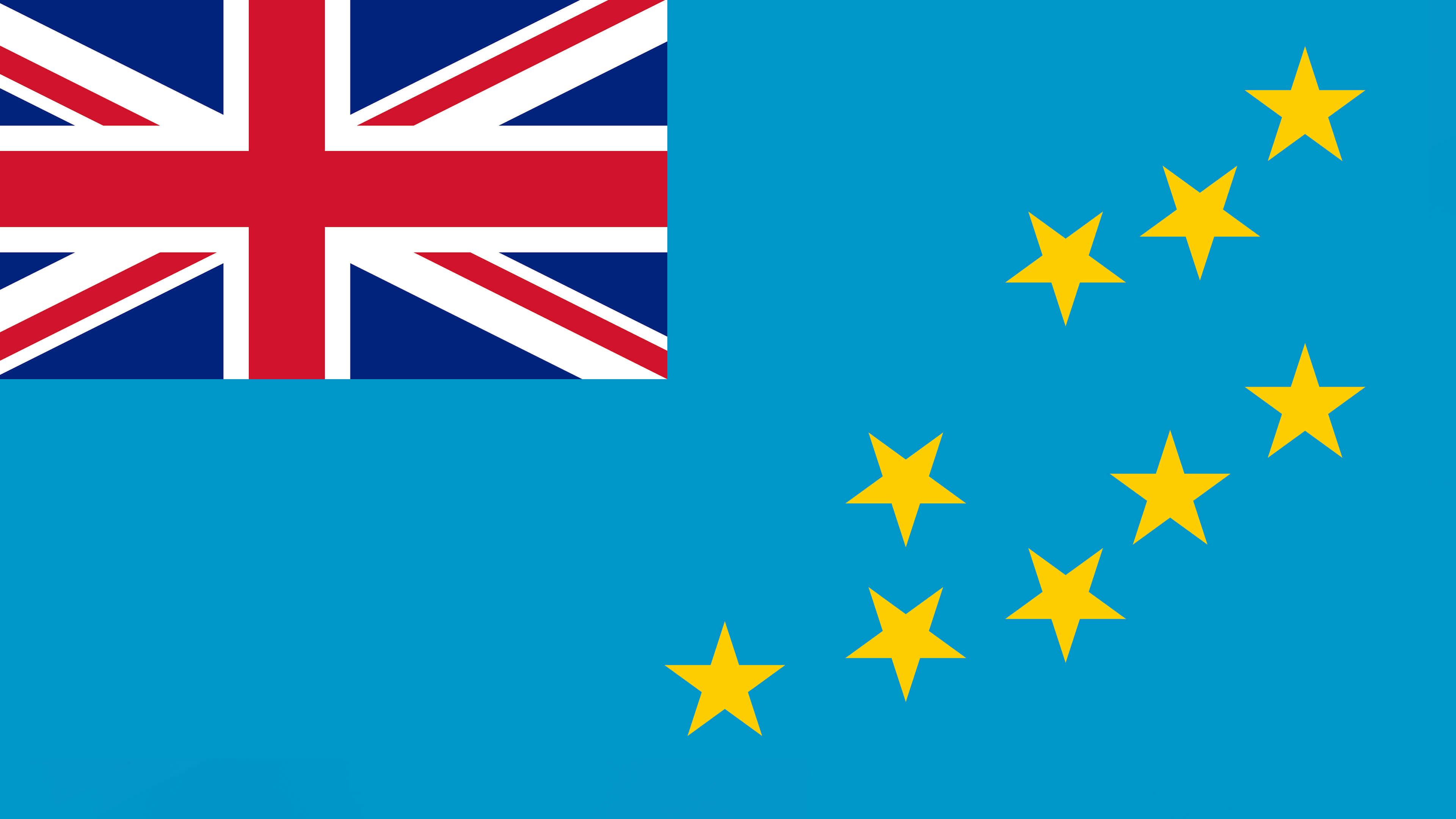 Tuvalu Flag UHD 4K Wallpaper Pixelz 3840x2160