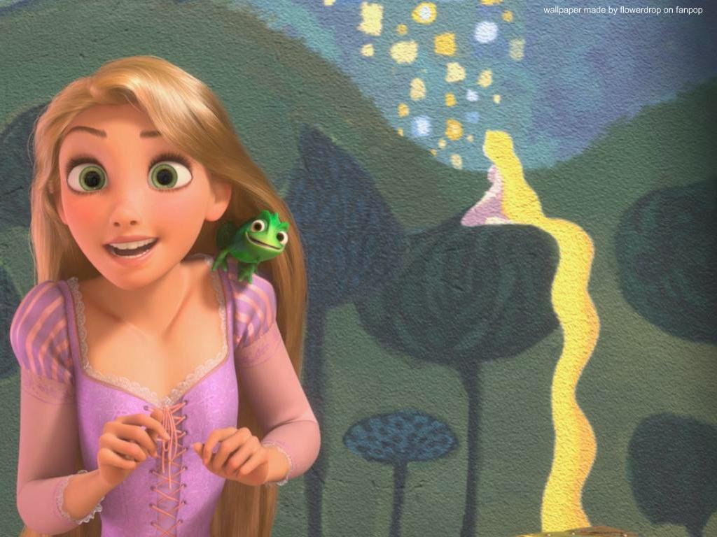 Disney Princess Rapunzel Wallpaper 1024x768