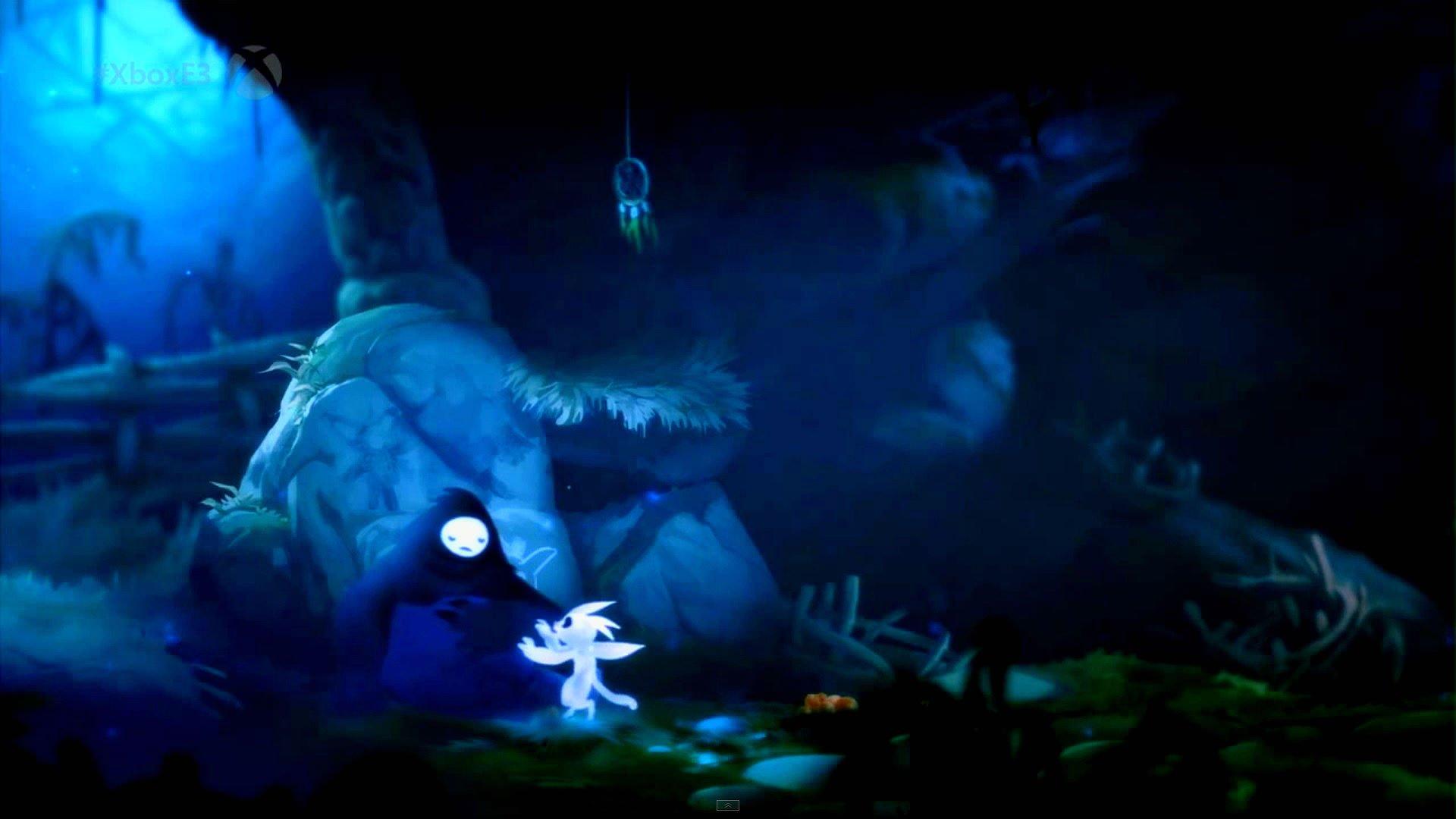 ORI BLIND FOREST action adventure rpg fantasy ori blind 1920x1080