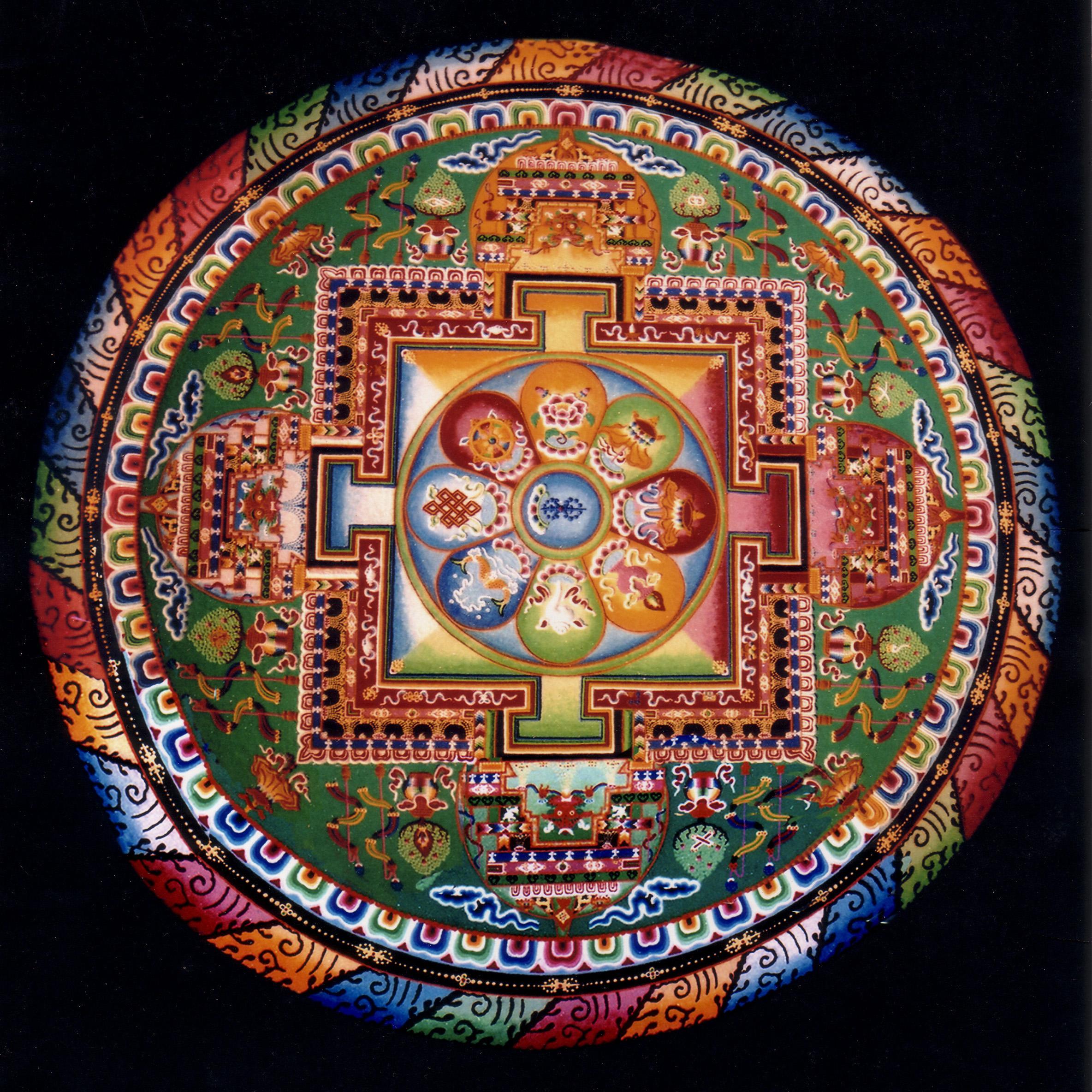 Mandala wallpaper 2368x2368