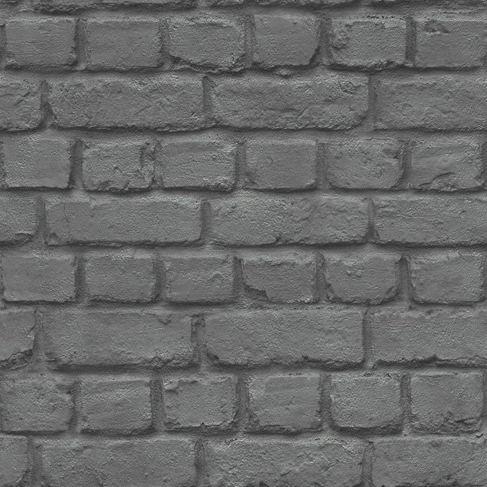 Brick Stone Wall Realistic Faux Effect Textured Photographic Wallpaper 1000x1000