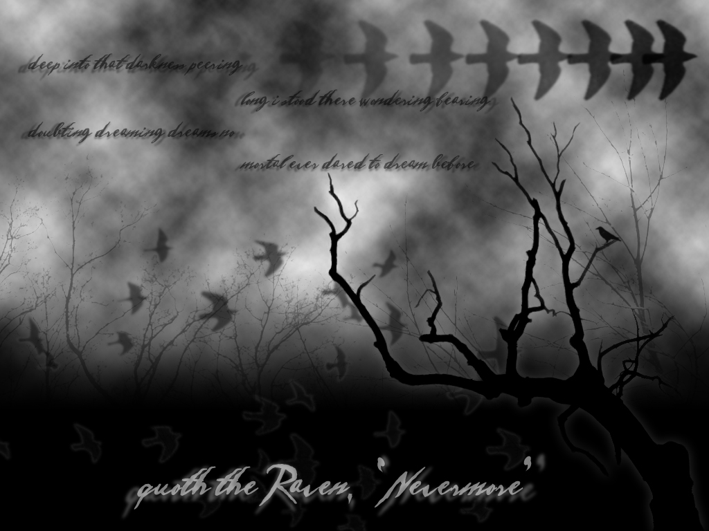 73] Nevermore Wallpaper on WallpaperSafari 1024x768