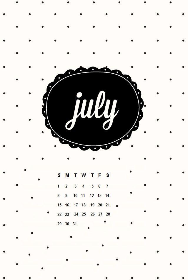 July 2018 iPhone Calendar HD Wallpapers Calendar 2018 Calendar 639x951