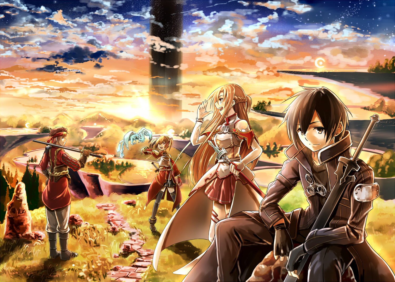 Sword Art Online Computer Wallpapers Desktop Backgrounds 1500x1071 1500x1071