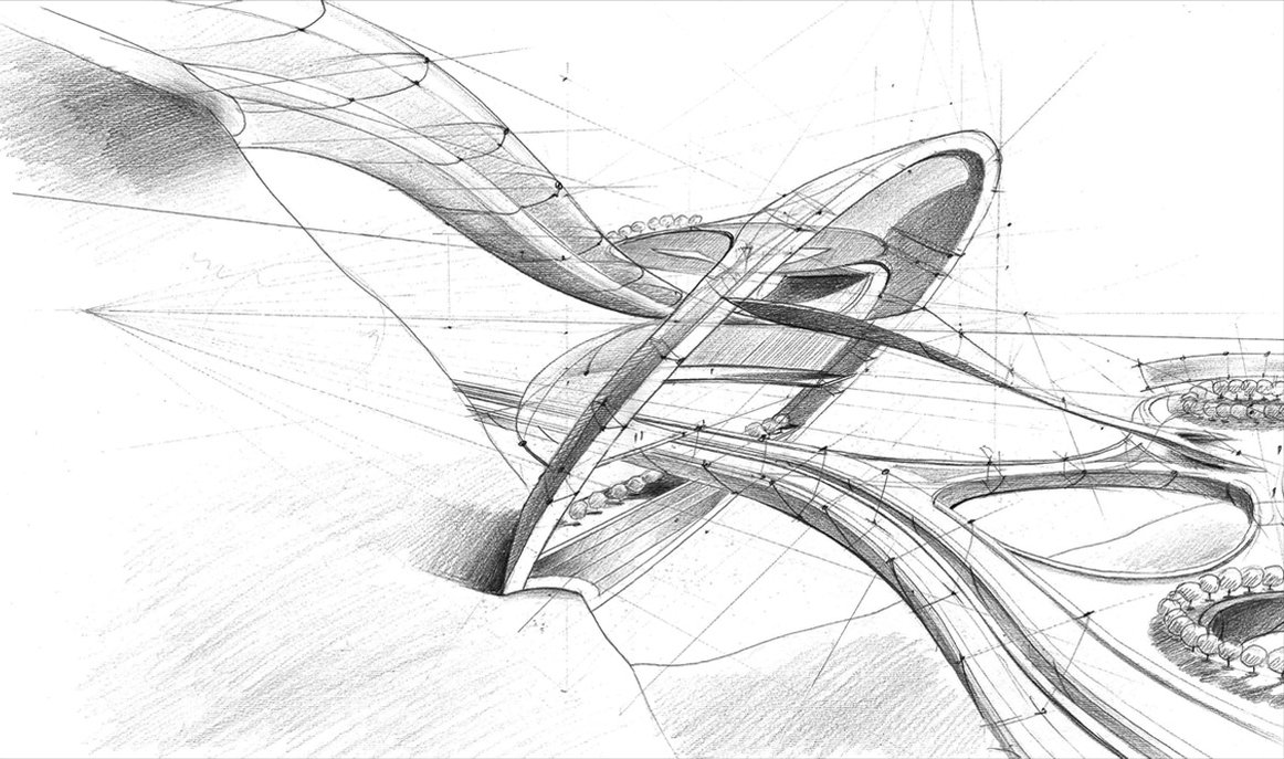 Free Download Architecture Drawing Wallpaper At
