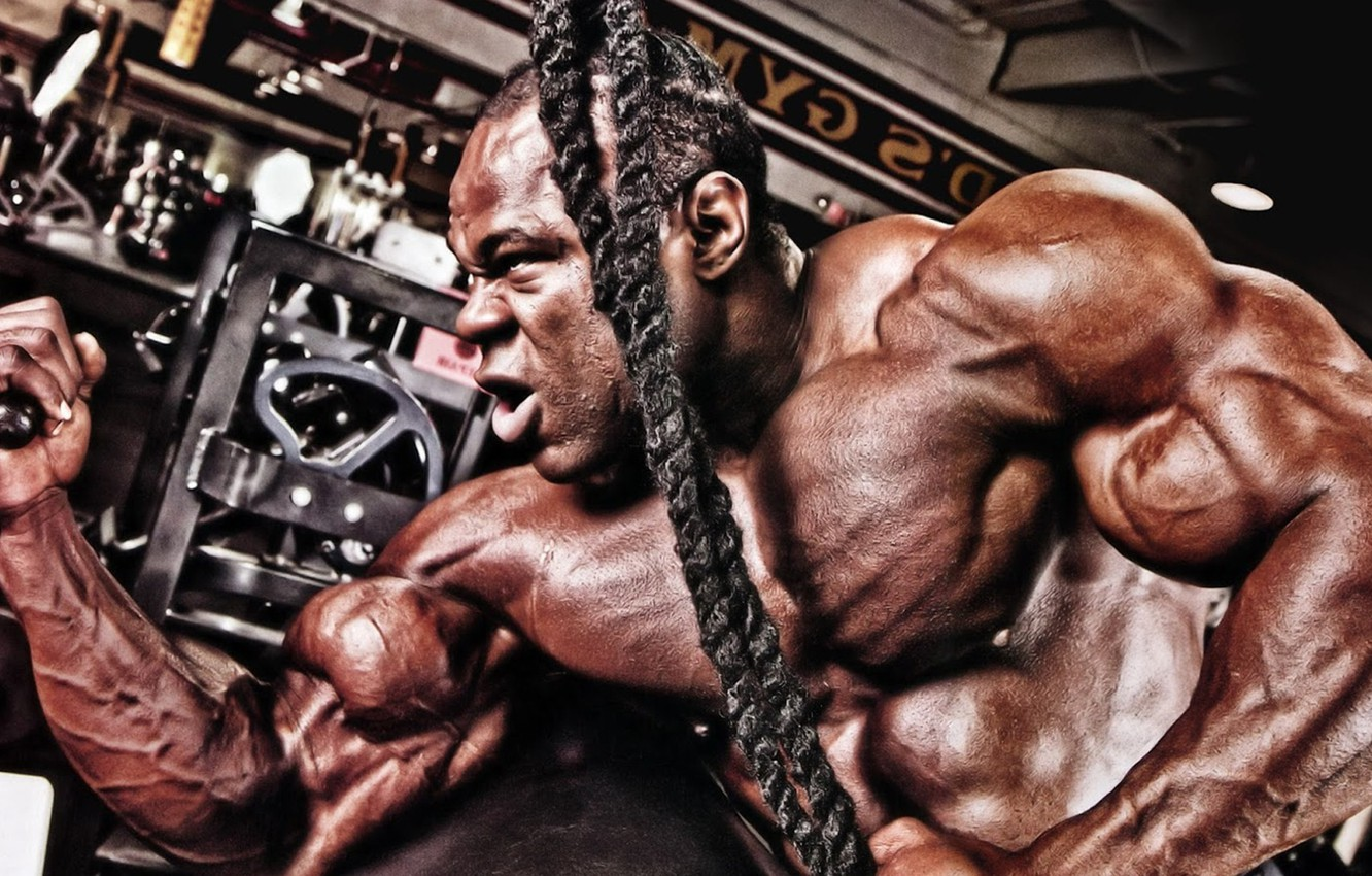 Photo Wallpaper Pose Muscle Muscle Gym Bodybuilder   Kai 1332x850