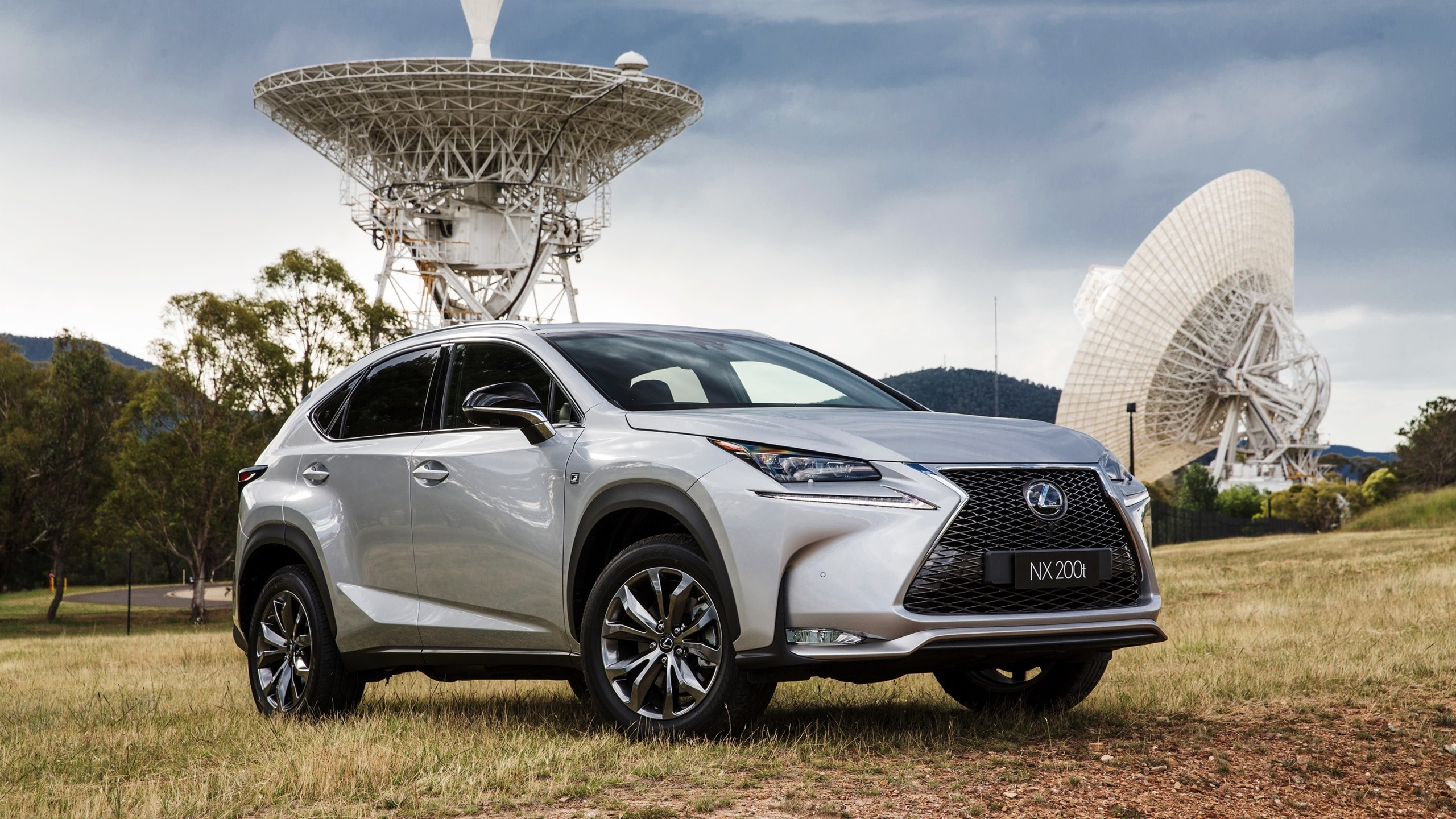 Lexus NX 200t silver car Wallpaper 2560x1440 resolution wallpaper 2560x1440
