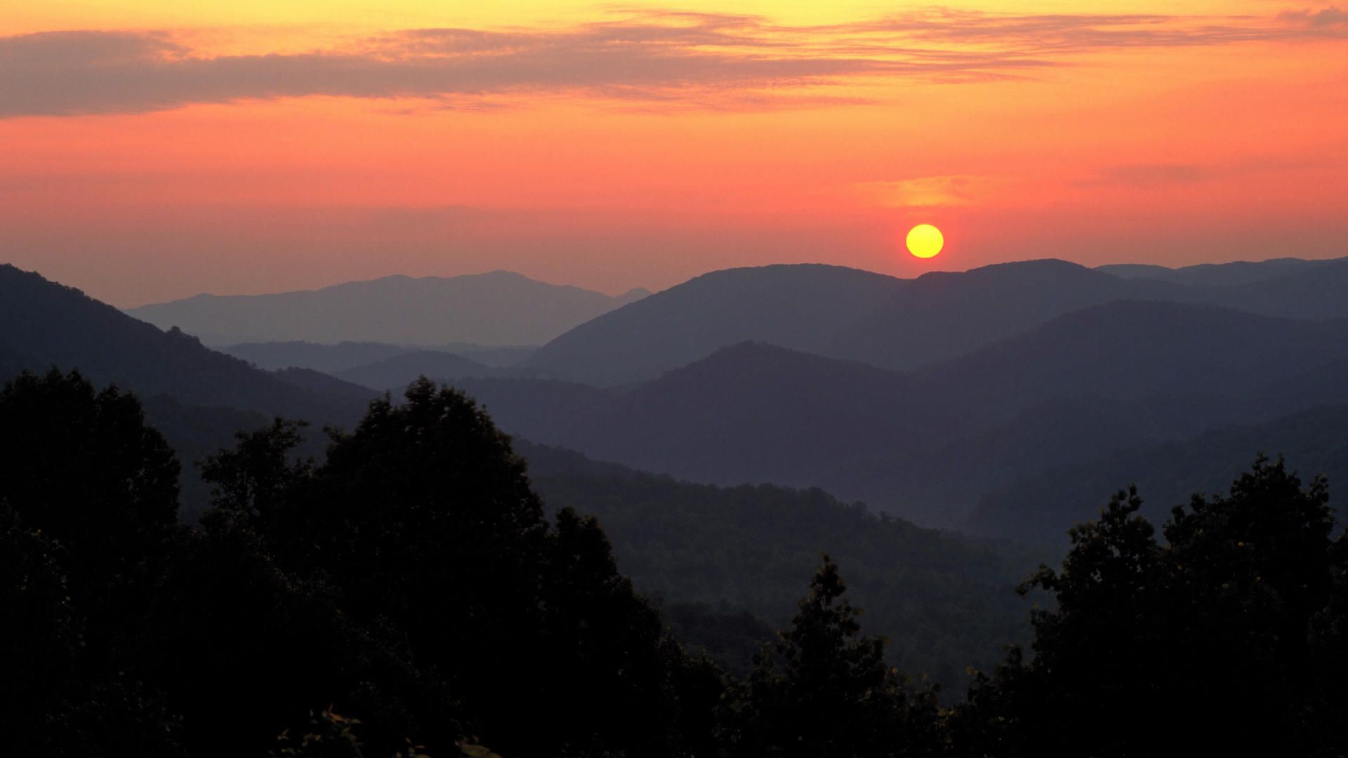 60 Smoky Mountain Sunrise Wallpapers   Download at WallpaperBro 1920x1080