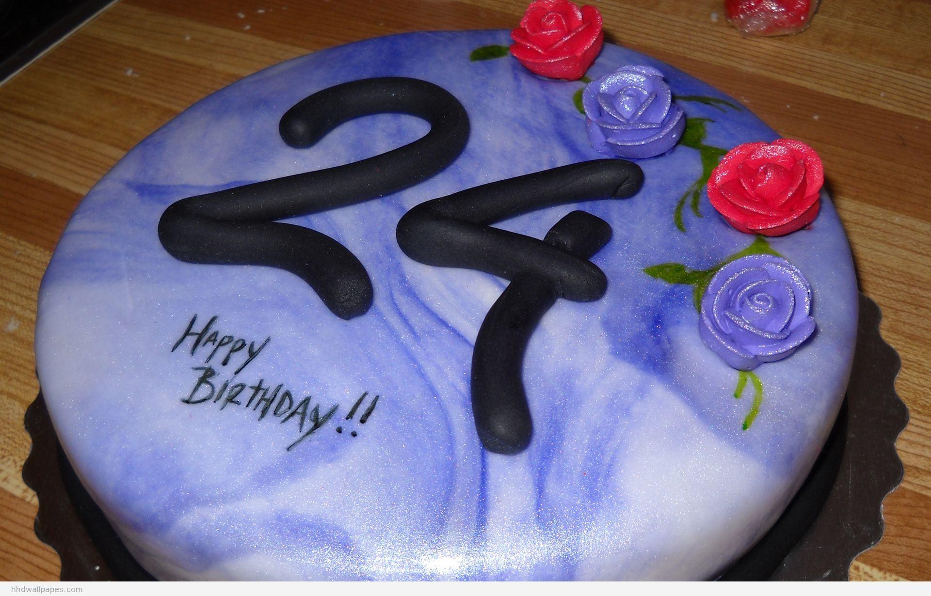 Поздравление с днём рождения с 24 летием