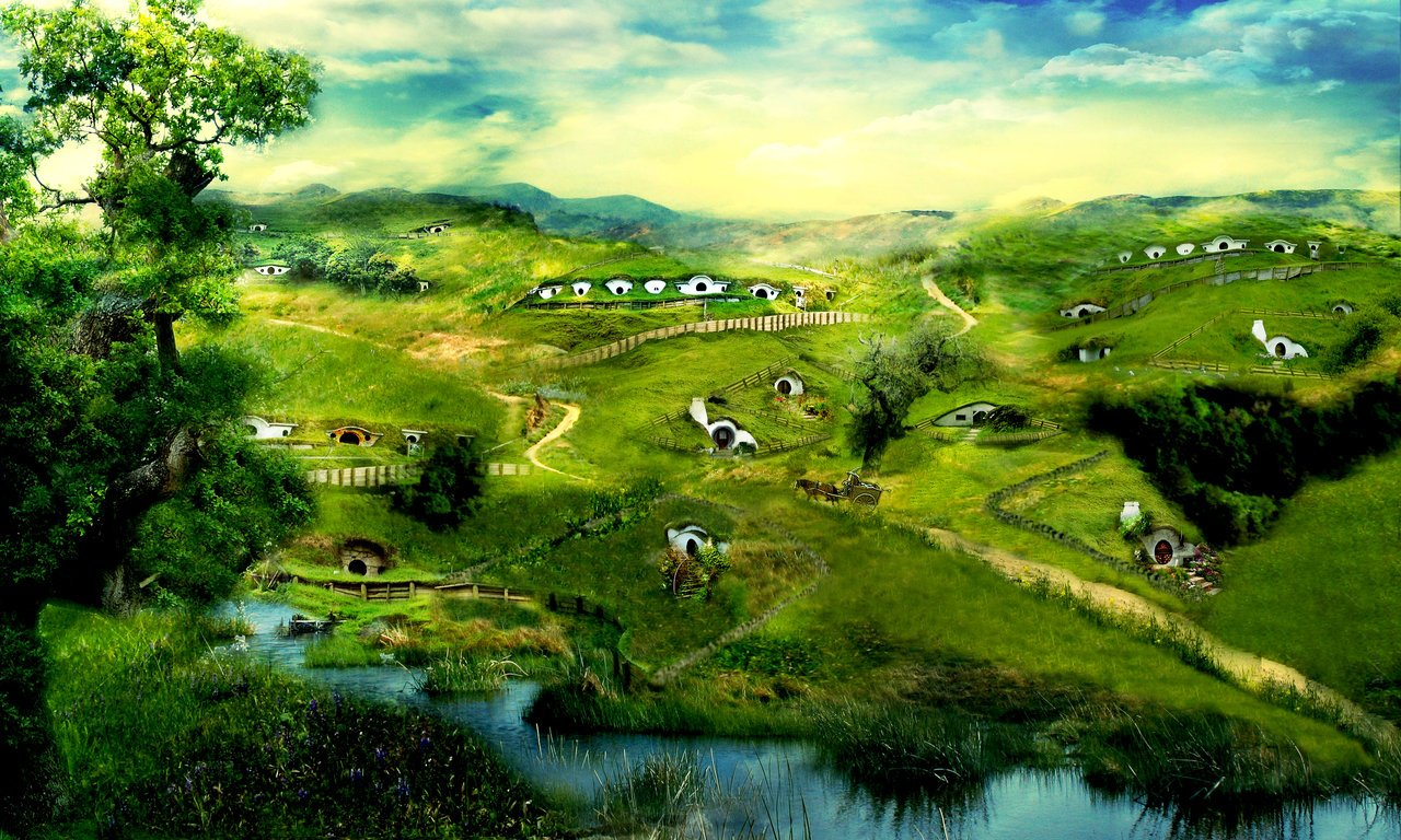 The Shire Wallpaper HD Walls 1280x768