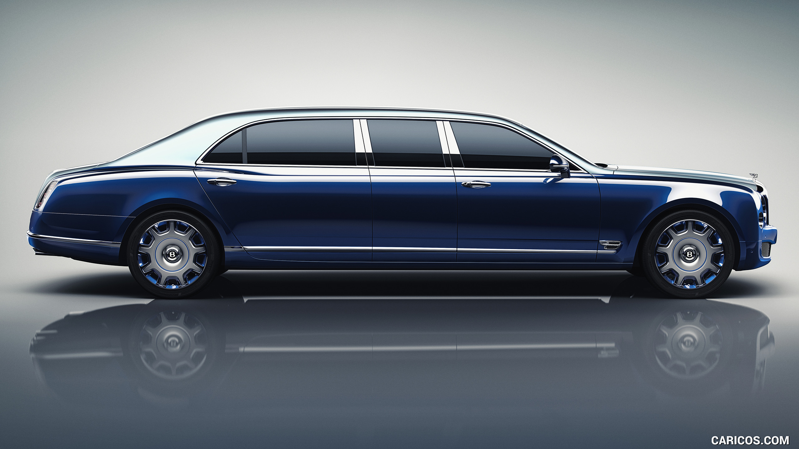 2016 Bentley Mulsanne Grand Limousine by Mulliner   Side HD 2560x1440