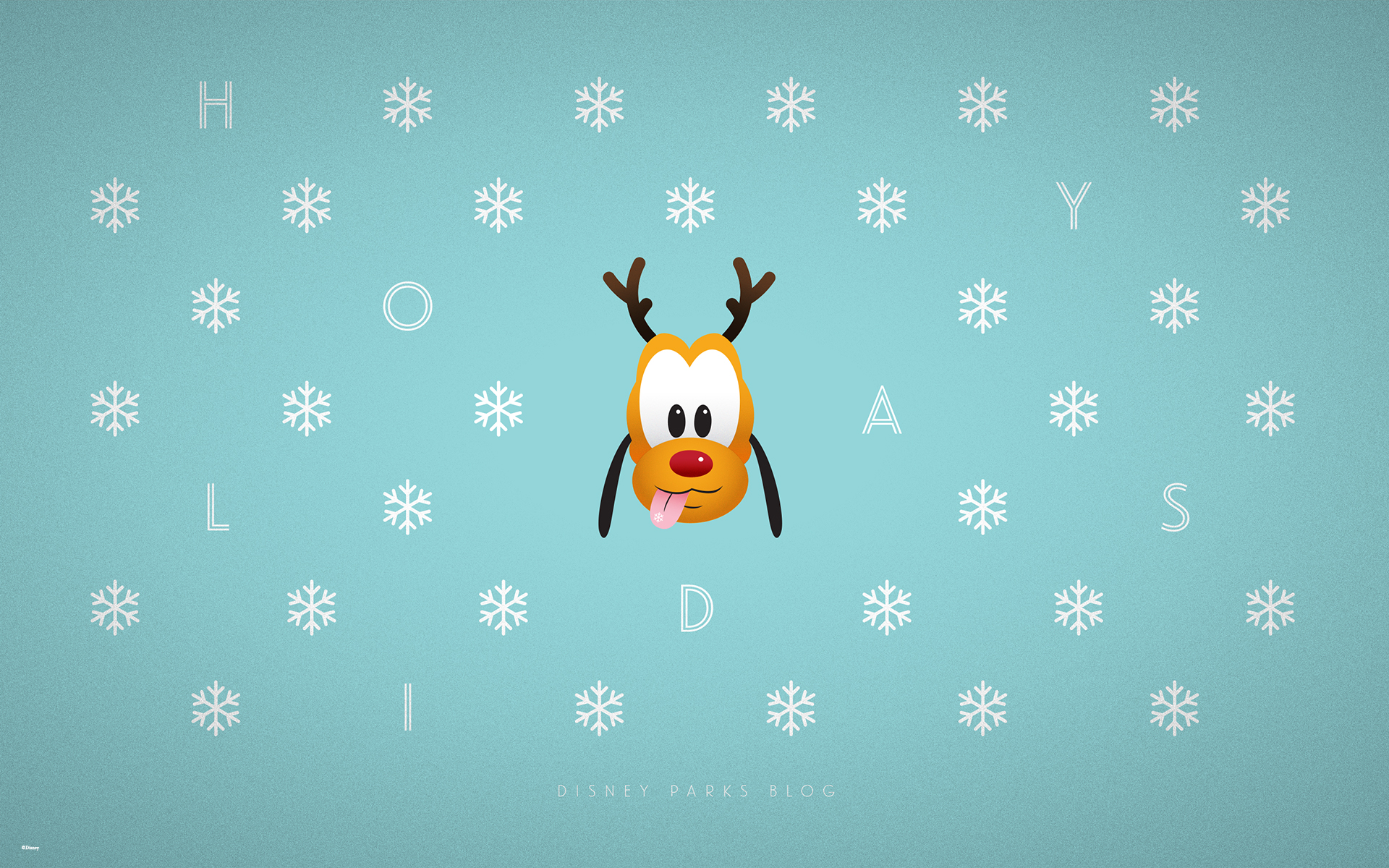 2015 Disney Parks Holiday Wallpaper 1920x1200