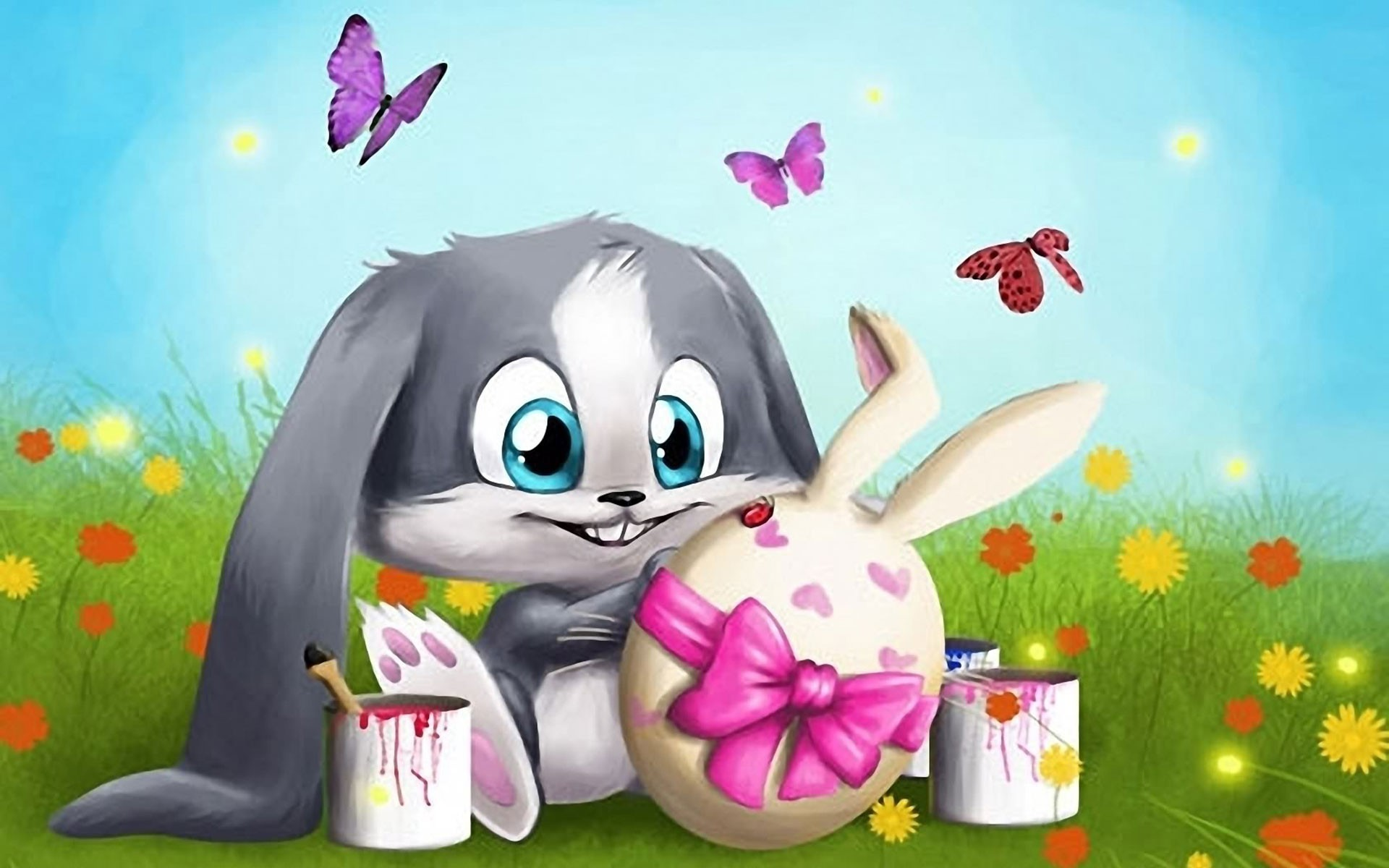 25 Innocent Easter Bunny Pictures 1920x1200