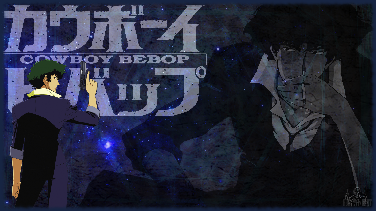 Cowboy Bebop Spike Spiegel Wallpaper by RogueVincent on 1600x900