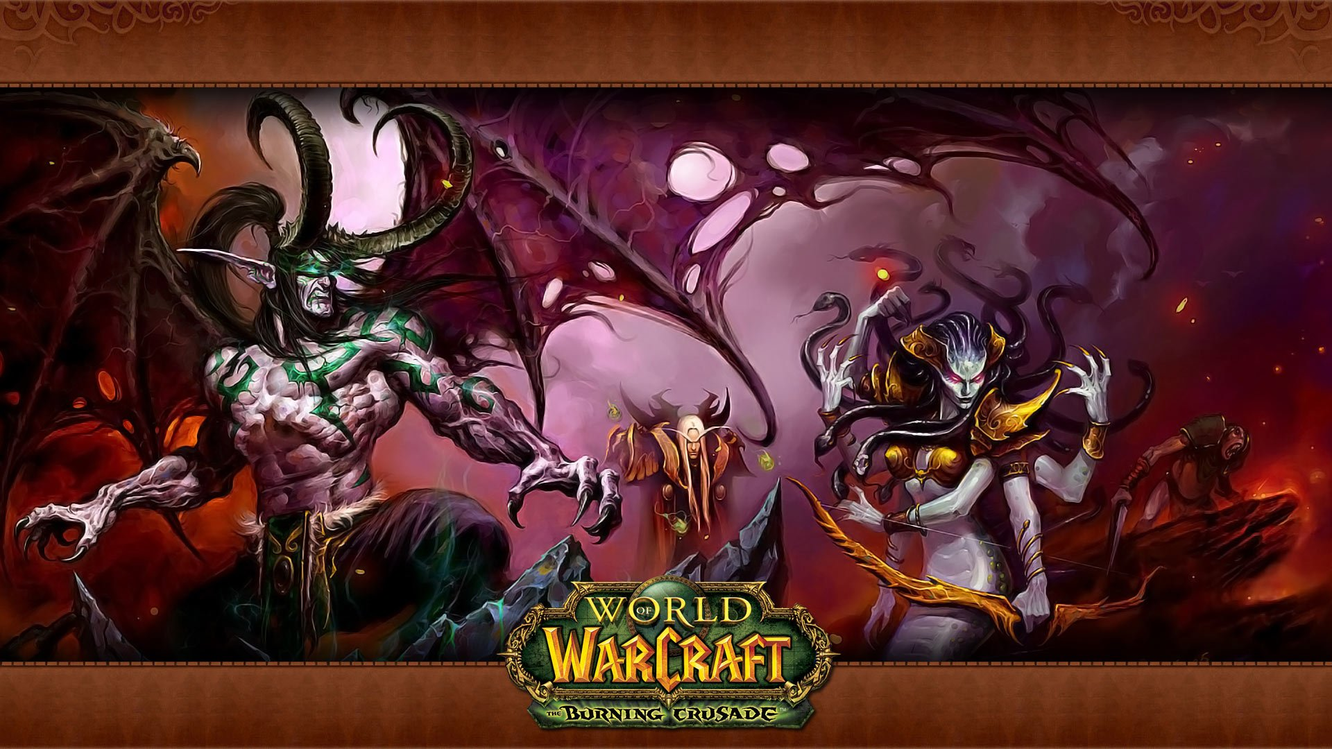 World Of Warcraft The Burning Crusade HD Wallpapers and 1920x1080