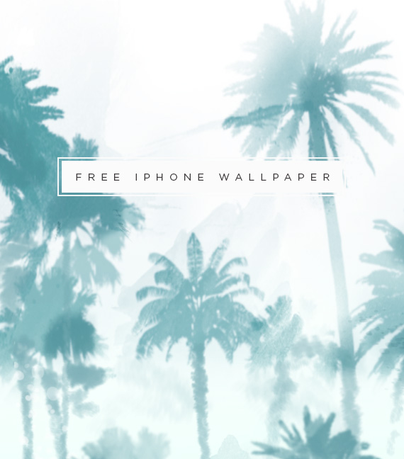 Palm Tree Print Wallpaper iphone wallpaper 570x648