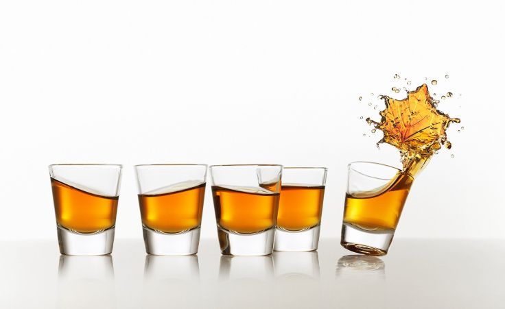 CROWN ROYAL canadian whisky alcohol wallpaper background 736x451