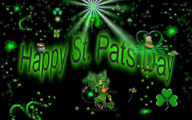 Happy Saint Patricks Day 2014 Wallpaper Happy Holidays 2014 650x406