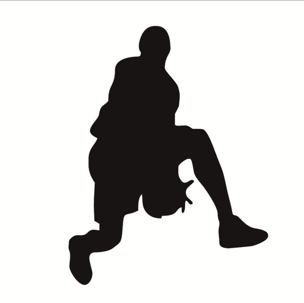 Amazoncom liuyongkui Passion Basketball Wall Stickers Removable 1000x997
