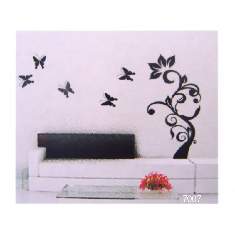 Removable vinylwall decal for interior design  wall stickers 60x90cm 800x800