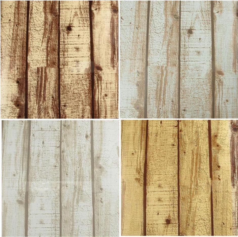 Rustic Grained Effect Wood Panel Wallpaper Vinyl Waterproof wall 941x934