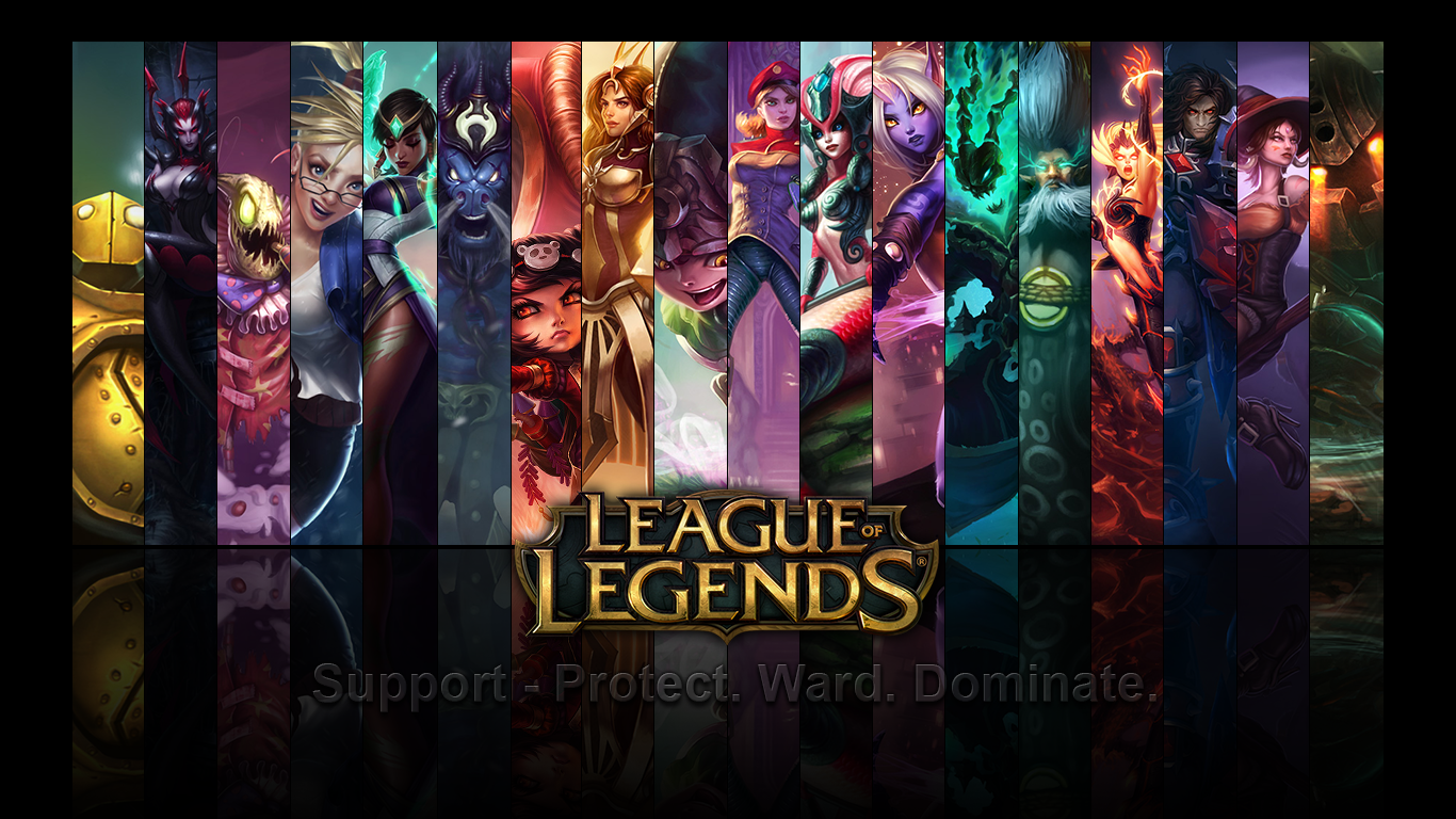 Free Download Wallpaper Support Undearth League Of Legends By