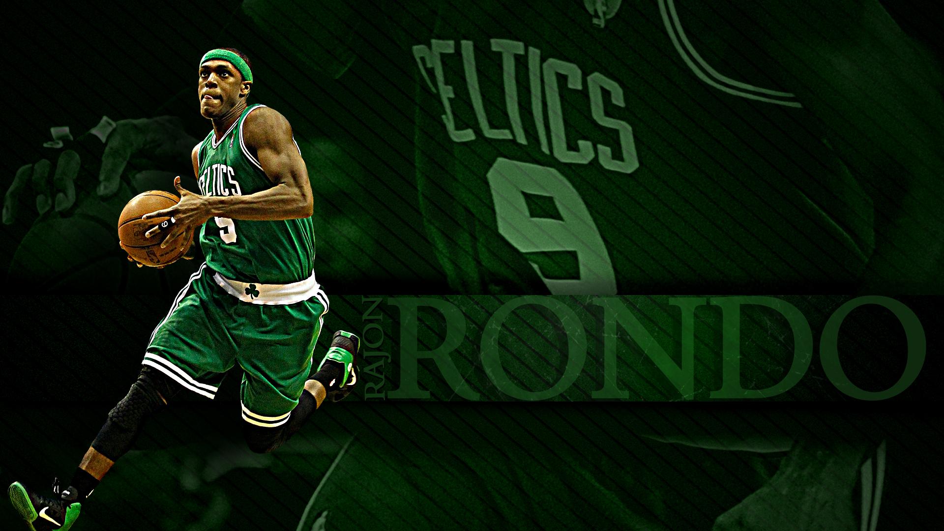 NBA Basketball Boston Celtics Rajon Rondo 1920x1080 HD 1920x1080