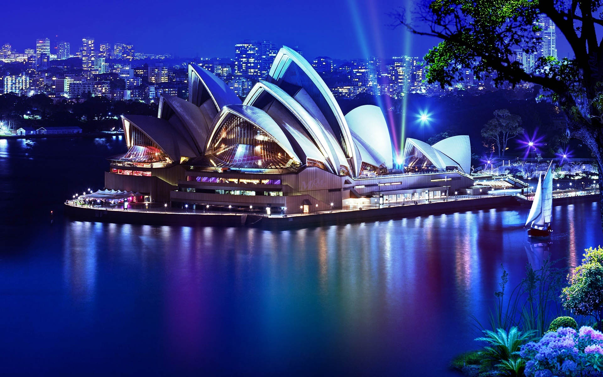 Sydney Opera House High Definition Wallpaper   Travel HD Wallpapers 1920x1200