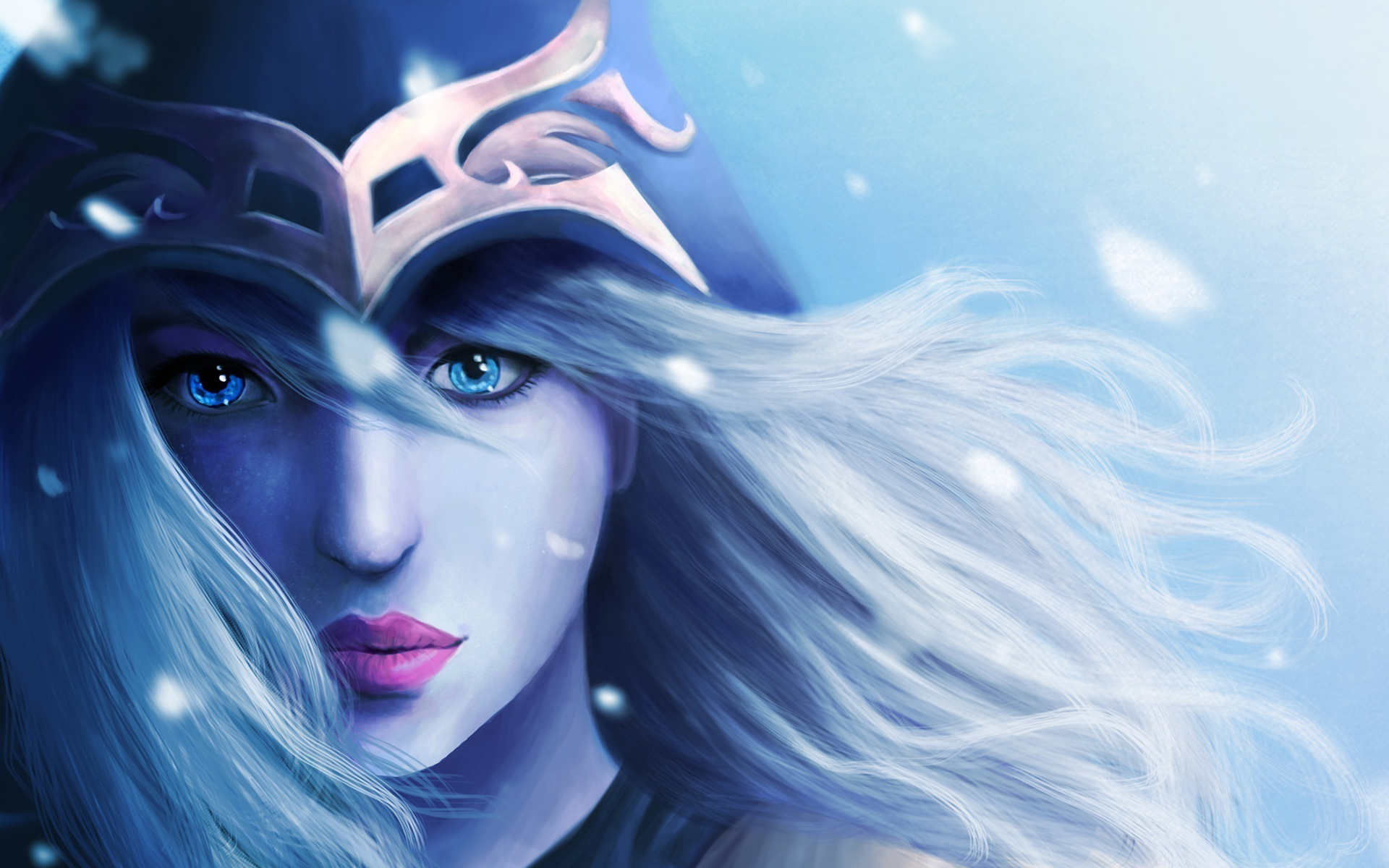 Free Download Ashe Fan Art League Of Legends Hd Wallpaper Lol