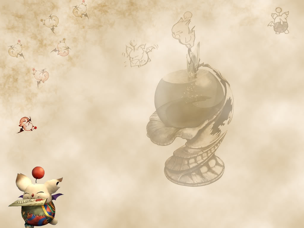 Free Download Moogle Wallpaper Photo Final Fantasy Crystal