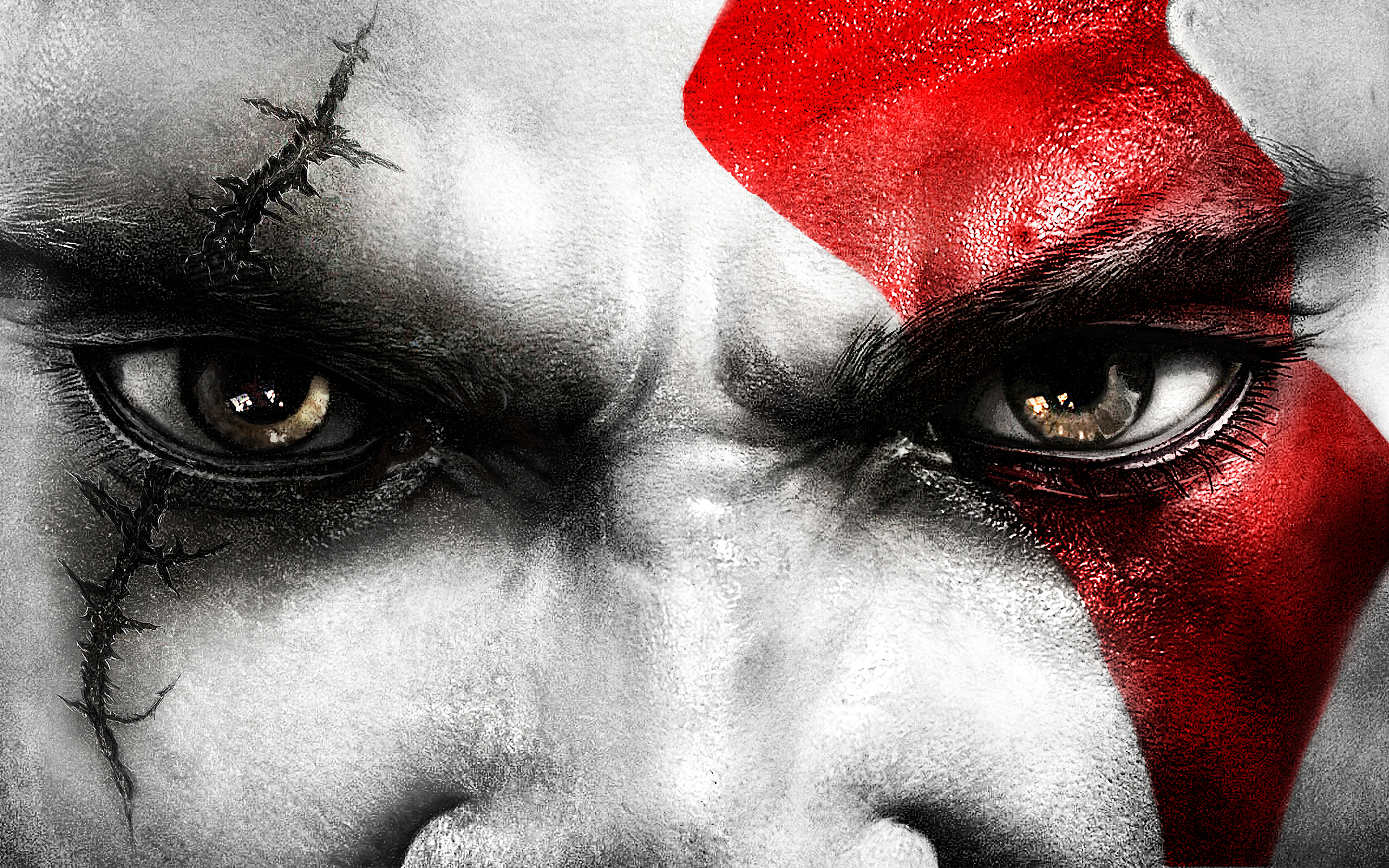 Kratos Eyes Wallpapers HD Wallpapers 2880x1800