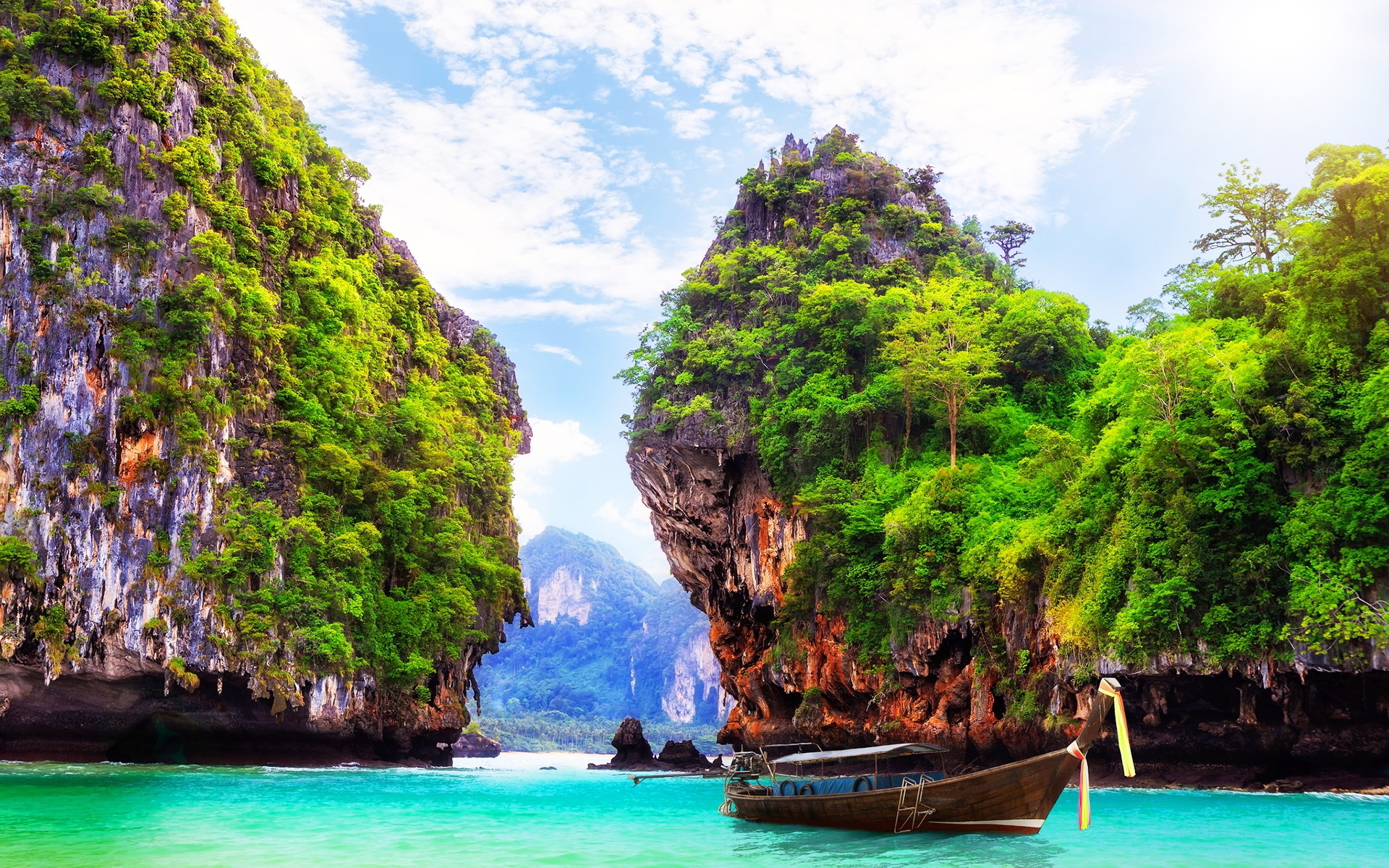 Thailand Beach HD Wallpaper 1920x1200