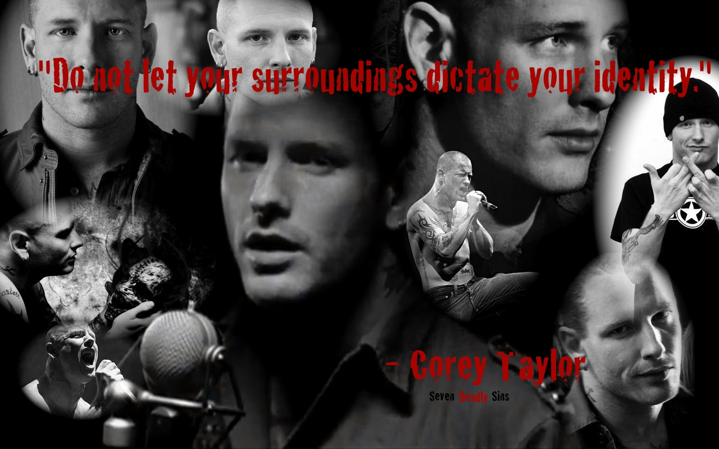 Corey Taylor wallpaper by jimmyakaemily2578 1440x900