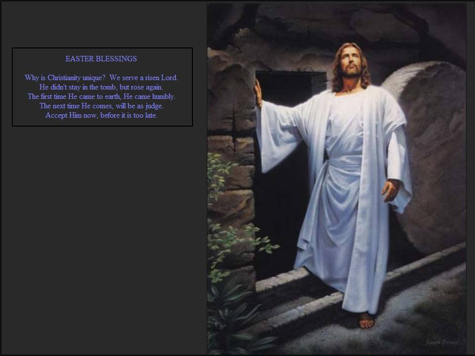 Easter Blessings Jesus Resurrection Wallpaper Christian 960x720