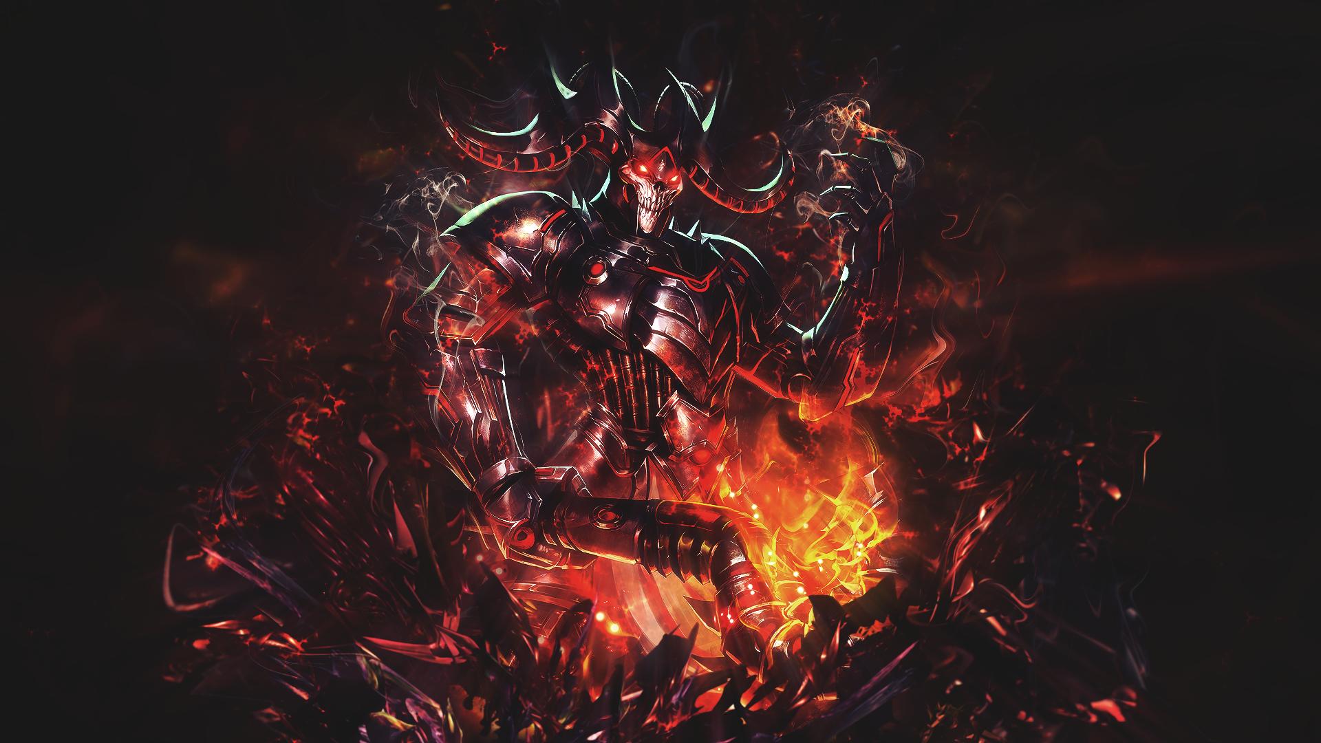 Hades Grim Wraith Smite HD Wallpaper Background Image 1920x1080