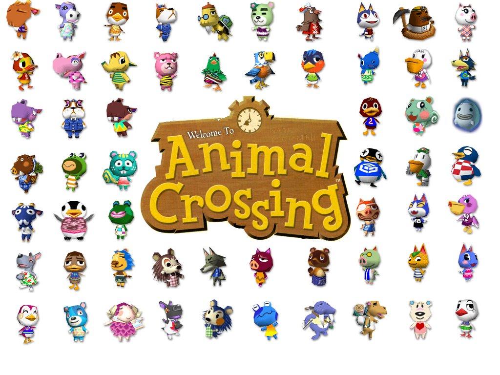 Animal Crossing Desktop Wallpaper