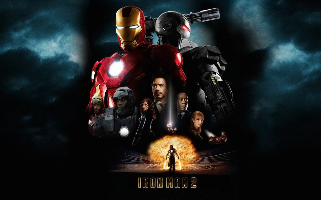 Iron Man 2 Poster Wall Mix 4 by rehsup 1024x640