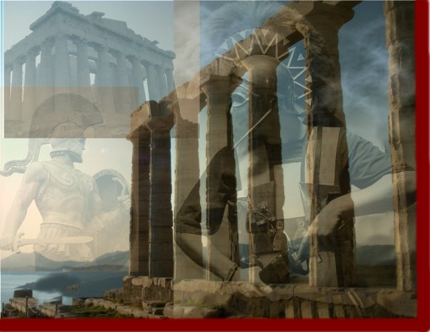 greek background for powerpoint