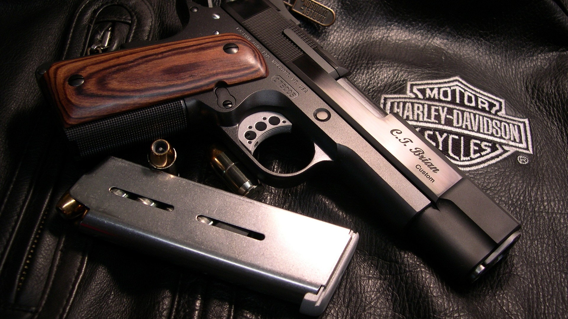 Best Guns And Harley Davidson Wallpaper Deskto 3047 Wallpaper High 1920x1080
