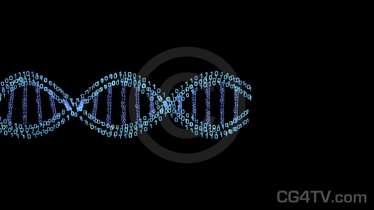 Digital DNA Animated Background Animated Backgrounds CG4TVcom 1280x720