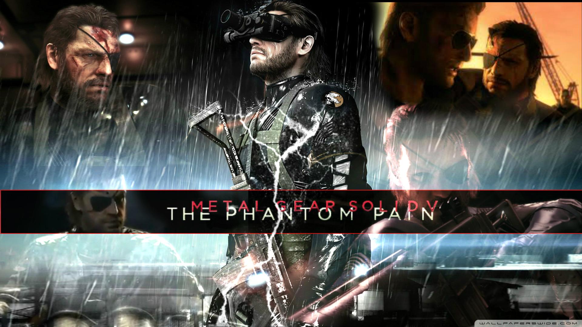 Free Download Metal Gear Solid V Wallpaper Rain 1920x1080 For
