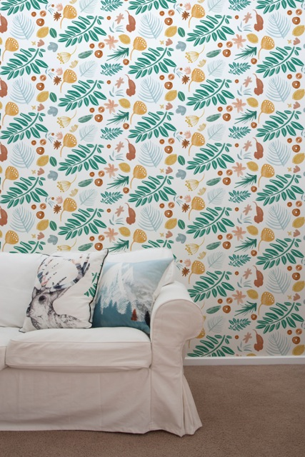 Wallpaper Inspired By Australias Flora And Fauna Interior Design 427x640