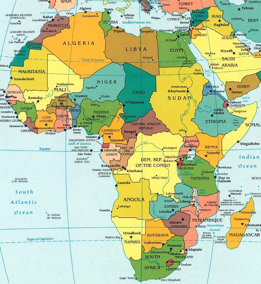 africa map africa map africa map africa map africa map 876x953