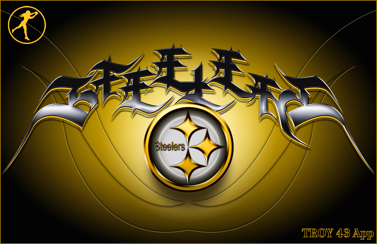 3 D Steelers Wallpaper Related Keywords amp Suggestions   3 1280x830