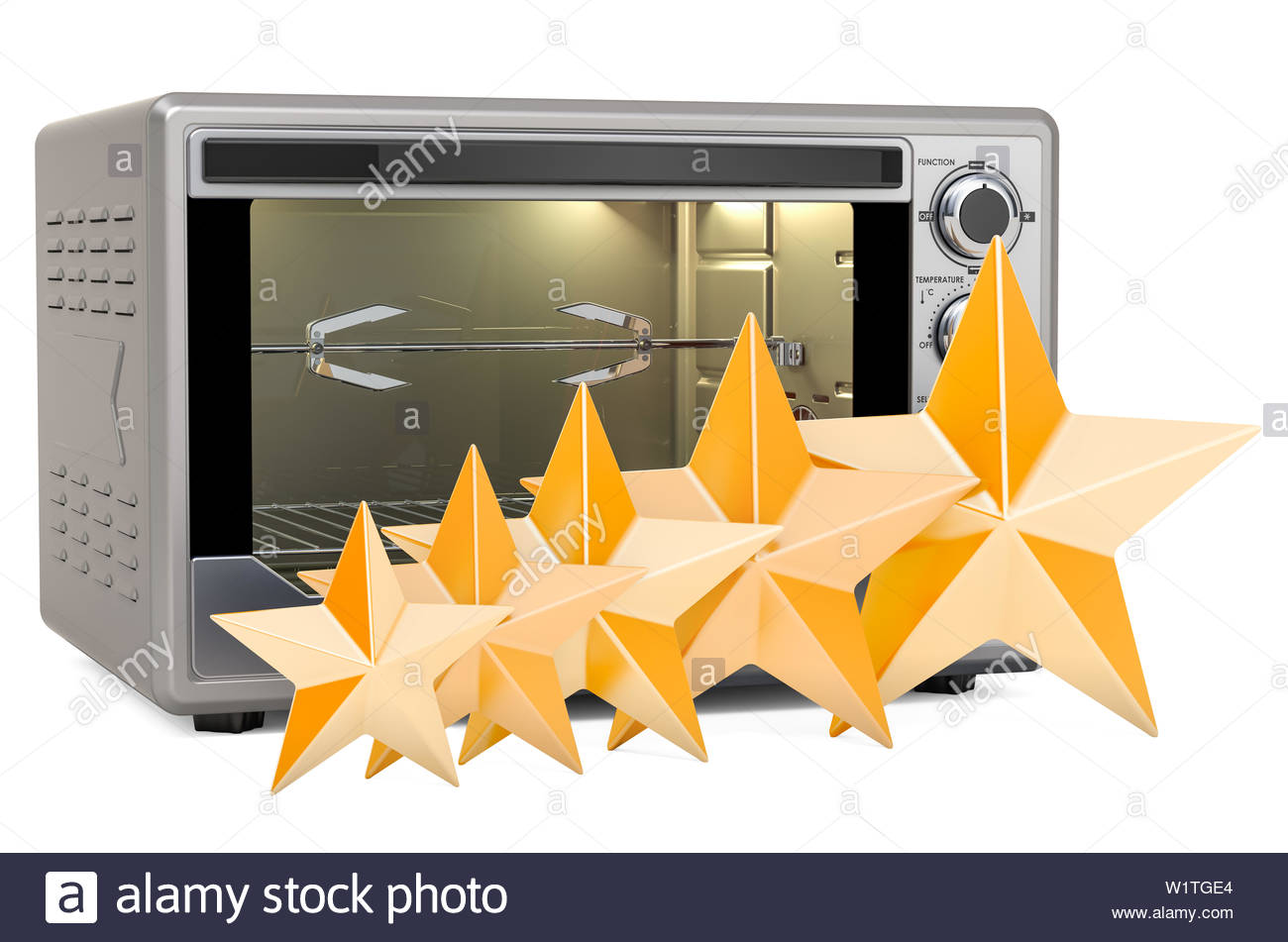 Customer rating of Convection Toaster Oven with Rotisserie and 1300x951