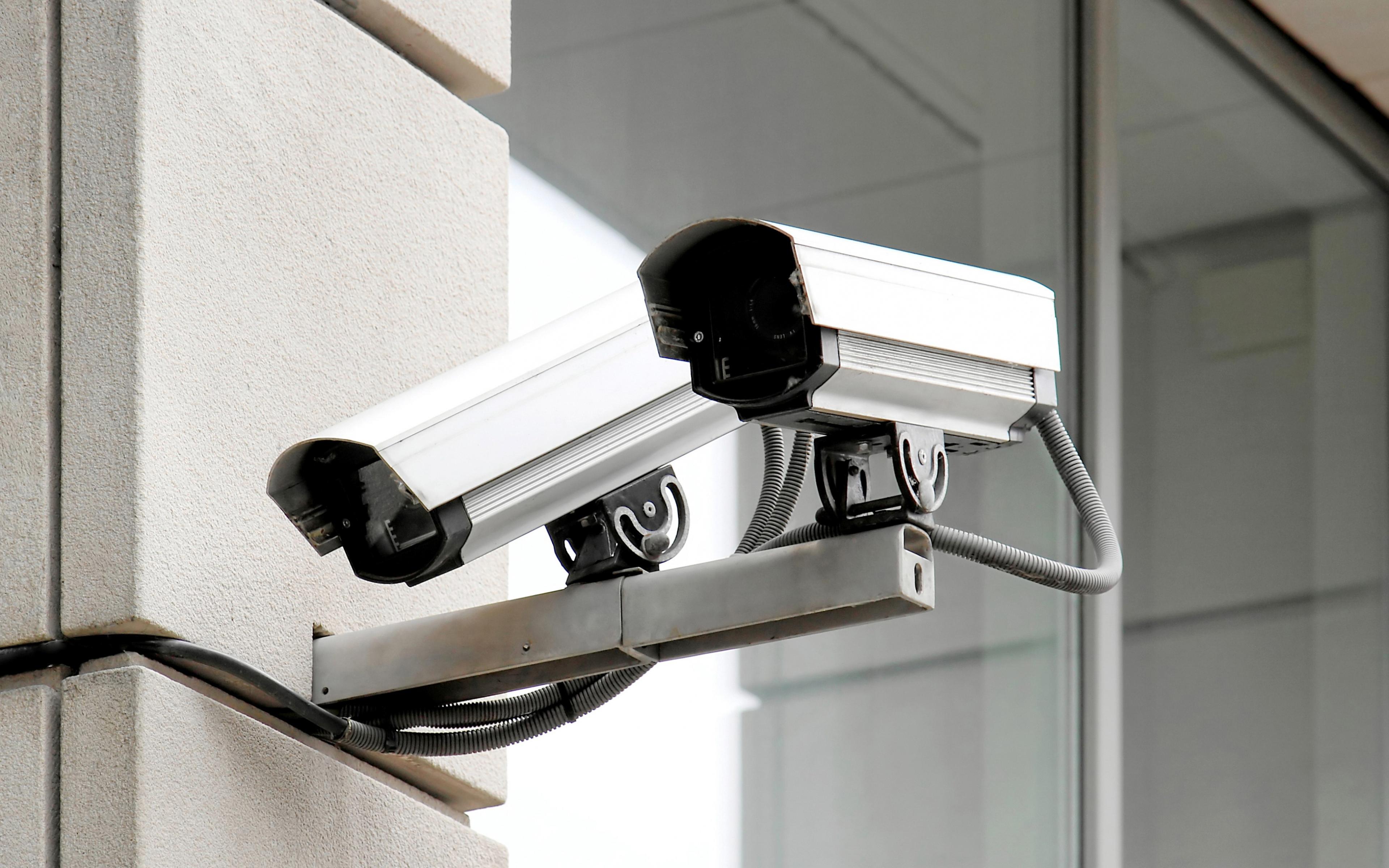 security camera wallpaper wallpapersafari. Black Bedroom Furniture Sets. Home Design Ideas